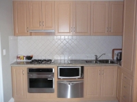 West End Apartments Kitchen